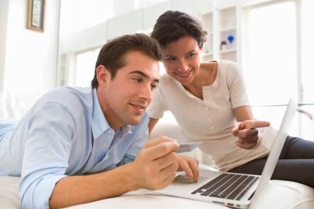 a young couple seeking a home