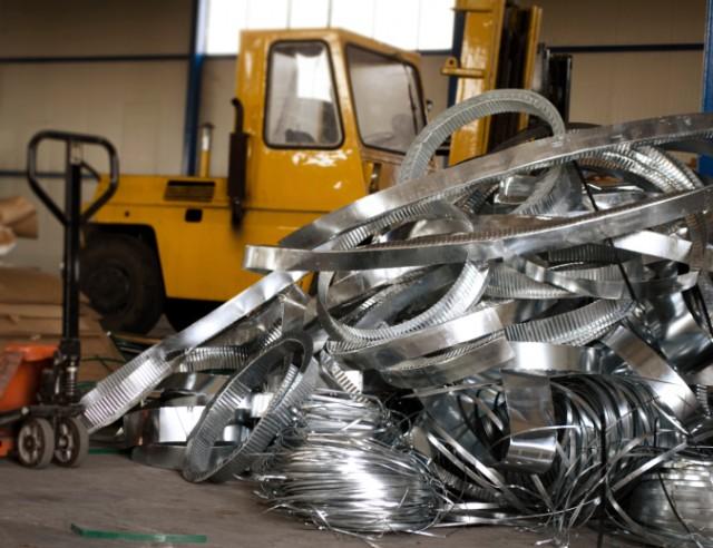 pile of metal