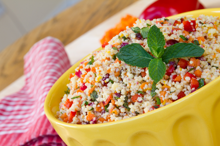 Couscous Salad with Mint