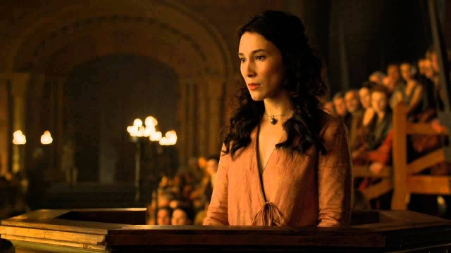 Shae on Game of Thrones.