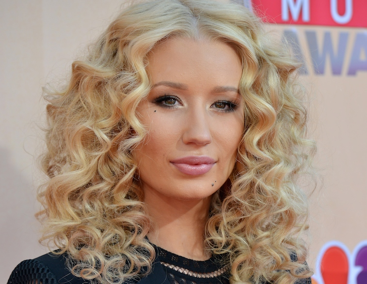 Iggy Azalea at the iHeartRadio Music Awards