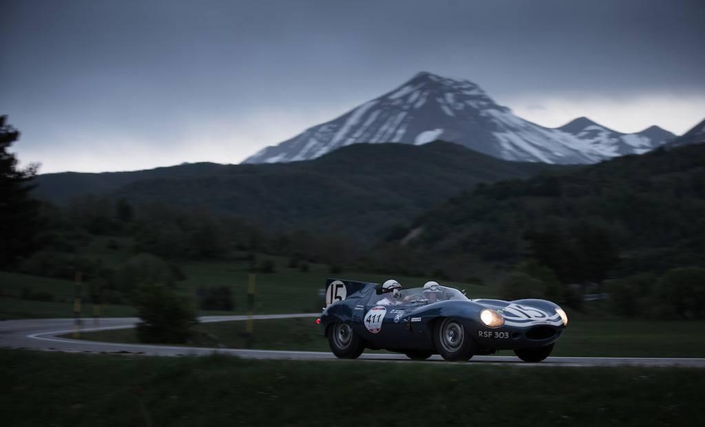 Jaguar D-Type at Mille Miglia 2015   Jaguar