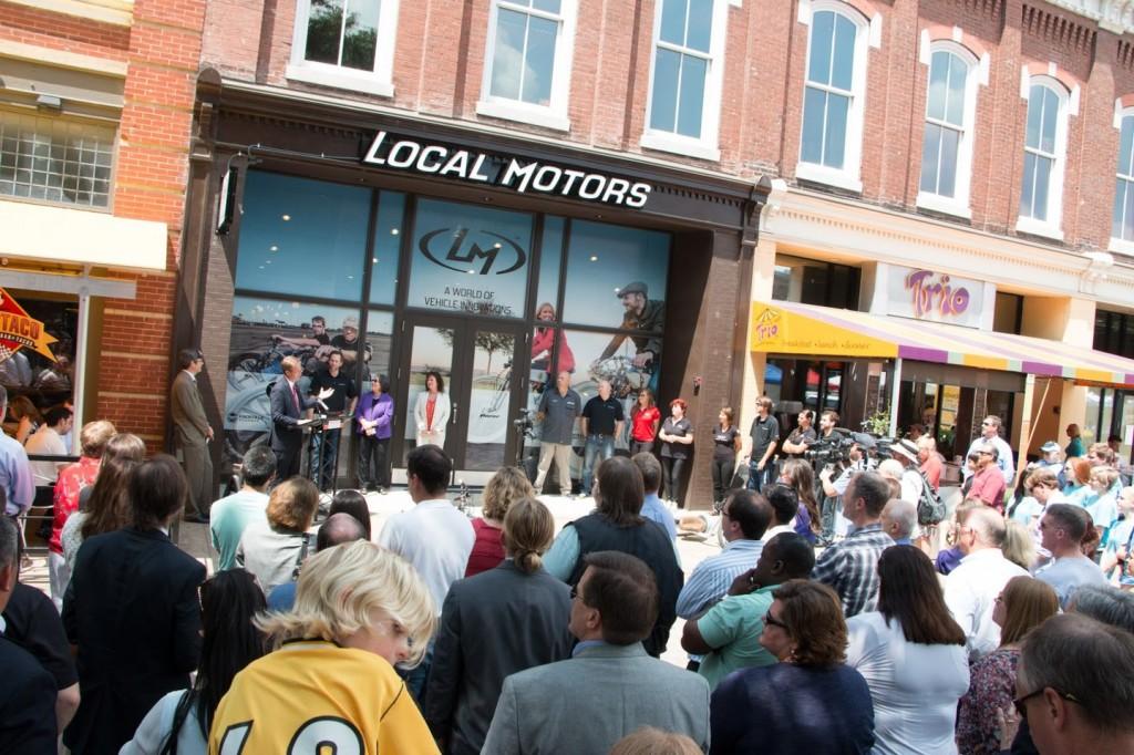 Local Motors Shop Opening