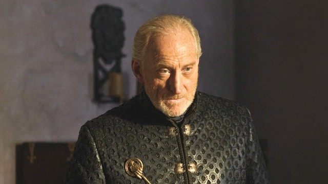 Tywin Lannister looks somber in a scene from 'Game of Thrones.'