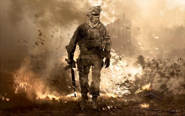 Cover art for Call of Duty 4: Modern Warfare