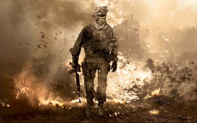 Cover art for Call of Duty 4: Modern Warfare