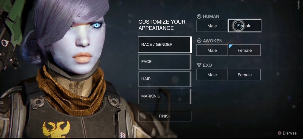 destiny-character-creation