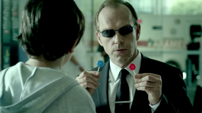 The Matrix, Agent Smith, red pill, blue pill, decisions