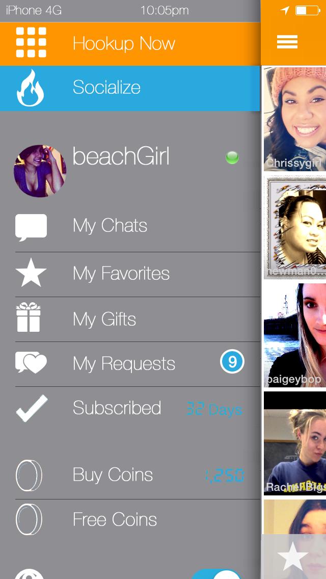 ihookup social screen