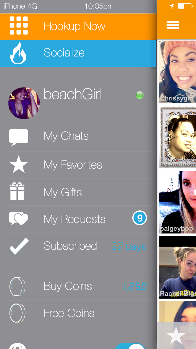 ihookup social screen