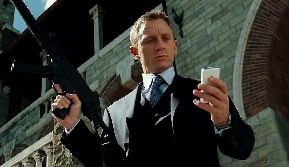 Daniel Craig, Casino Royale, James Bond