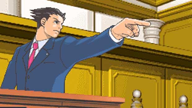 phoenix wright, ace attorney, objection