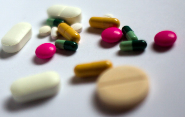 An assortment of pharmaceutical products