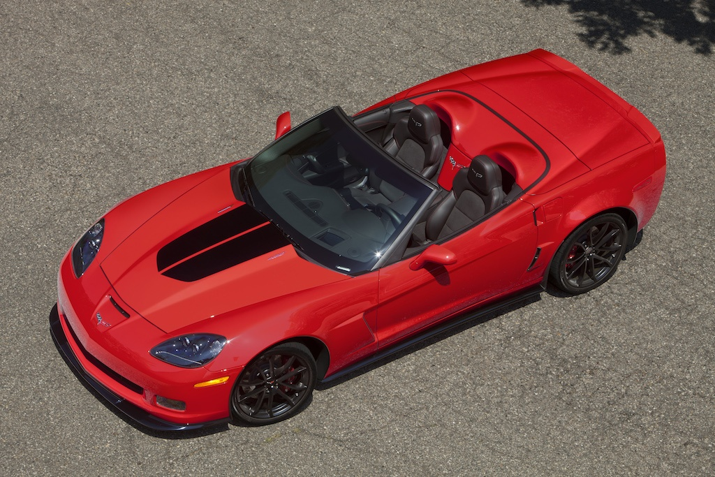 2013 Corvette 427 in red