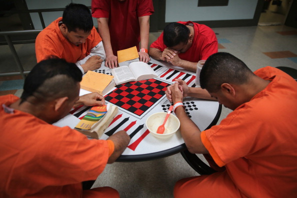 ICE Holds Immigrants At Adelanto Detention Facility