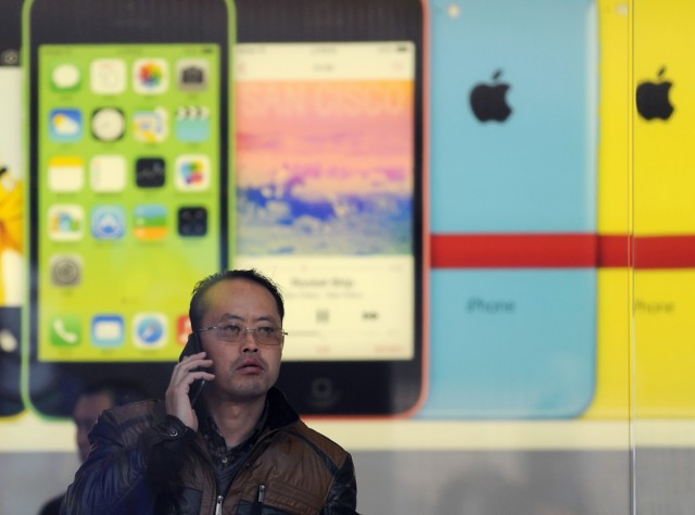CHINA-US-TELECOMMUNICATION-APPLE