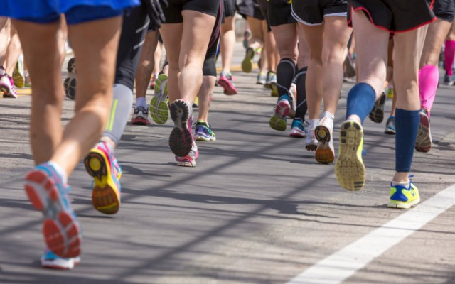 runners during a race