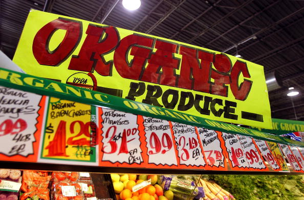 Organic, nutrition, produce, food labels, health