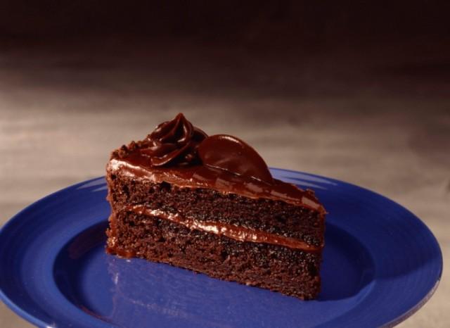 Chocolate Poke Cake With Sour Cream