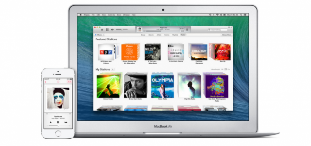 Apple iTunes iPhone and Mac