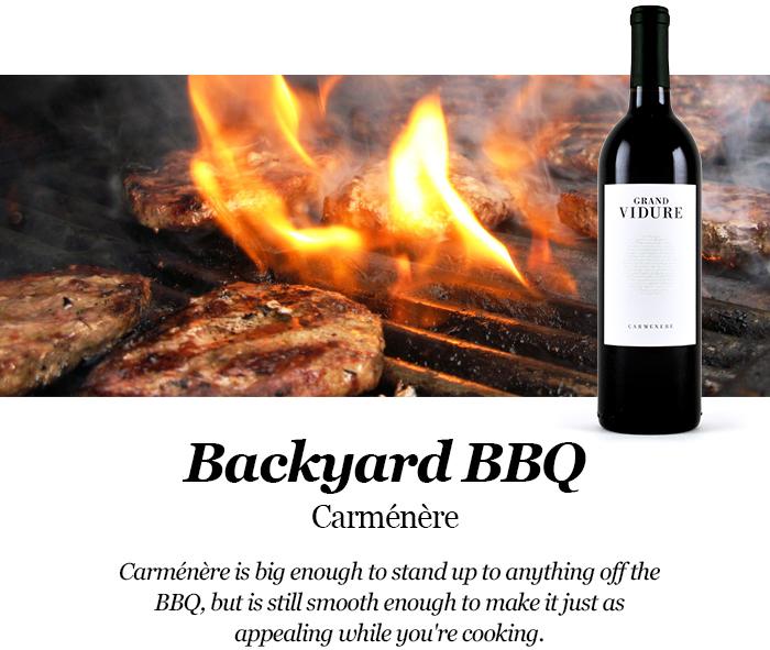 Best BBQ Wines: Pairing Carménère with a BBQ