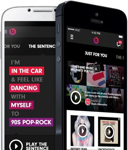 Beats Music iOS app