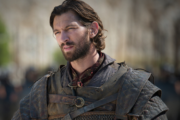 Michiel Huisman as Daario Naharis on Game of Thrones