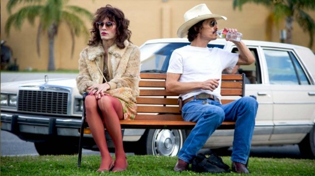 Jared Leto and Matthew Matthew McConaughey in Dallas Buyers Club