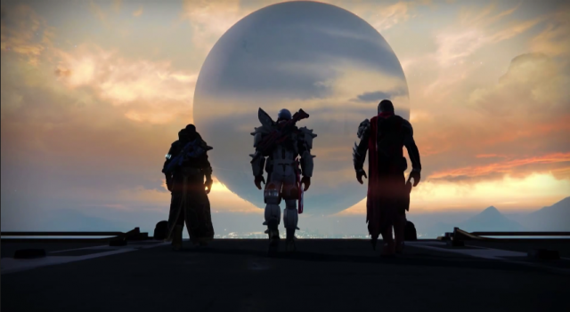Source: Destiny game trailer via YouTube