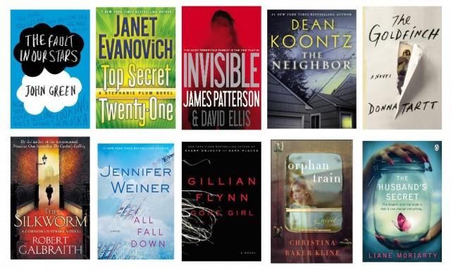 Digital Book World July 5 Bestsellers