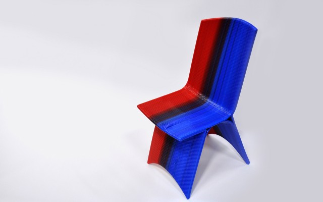 Drawn 3-D Printed Chair