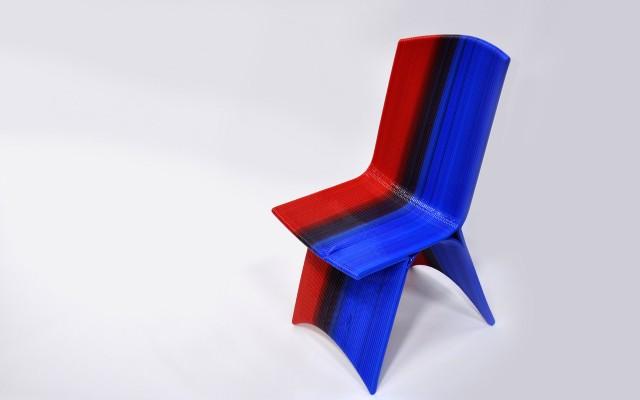 Drawn 3-D Printed Chair