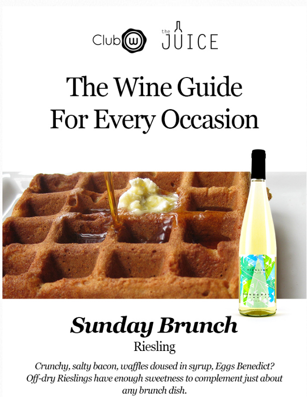Brunch Ideas: Pairing Riesling with brunch
