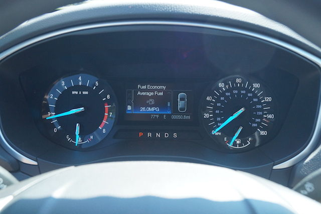 FordFusion1.5L-Instrument-Cluster