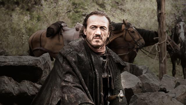 Bronn on Game of Thrones.