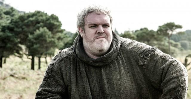 Kristian Nairn as Hodor on Game of Thrones