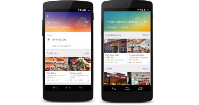 Google Maps mobile app Explore