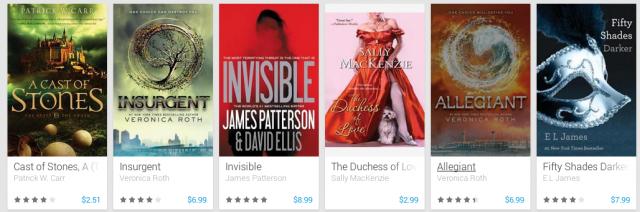 Google Play bestsellers 2