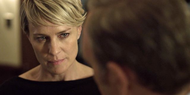 Is Robin Wright the Emmy Favorite With Steely 'House of Cards' Role?