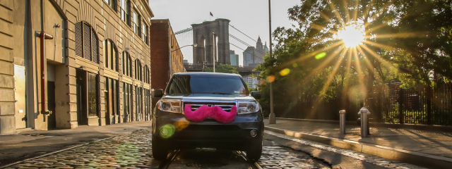 Lyft vehicle