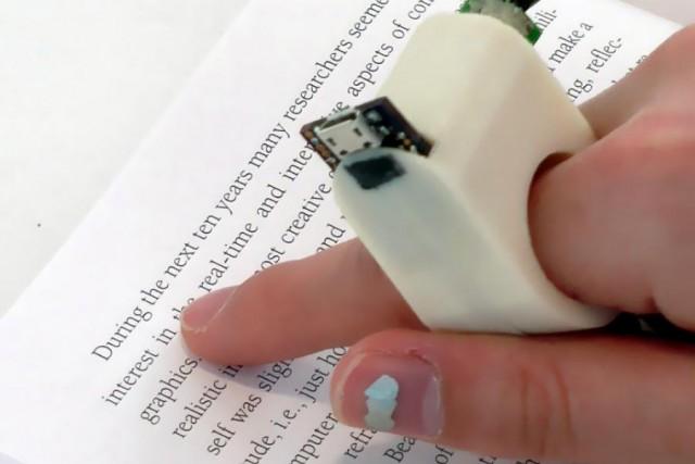 MIT FingerReader