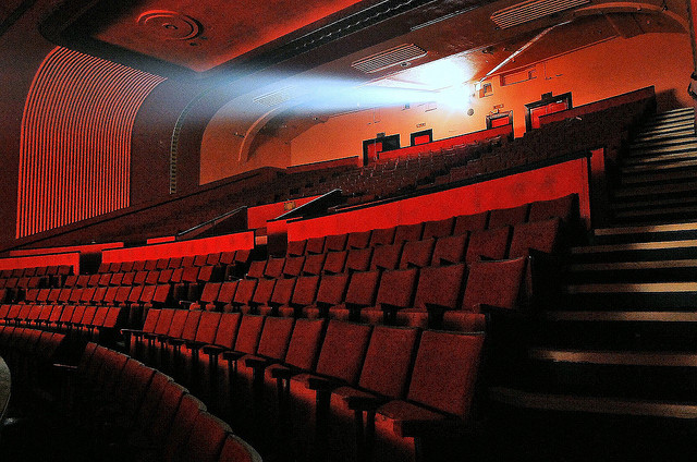 a picture of a movie theater