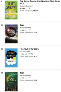 Nook bestsellers 3