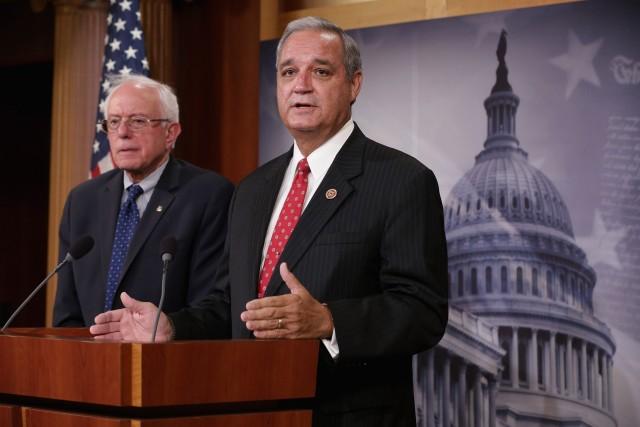 Bernie Sanders Makes Announcement On VA Legislation Deal