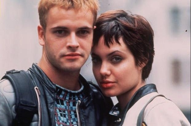 Angelina Jolie in movie 'Hackers'