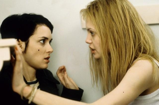 Angelina Jolie in movie 'Girl, Interrupted'