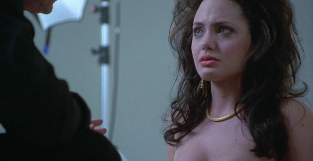 Angelina Jolie in movie 'Gia'