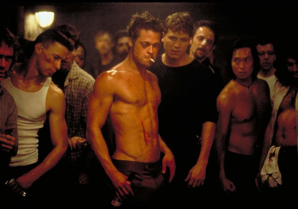 Fight Club, Brad Pitt