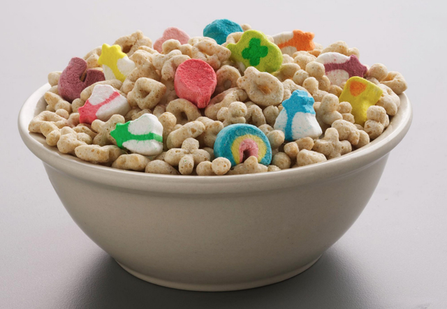 list of lucky charms