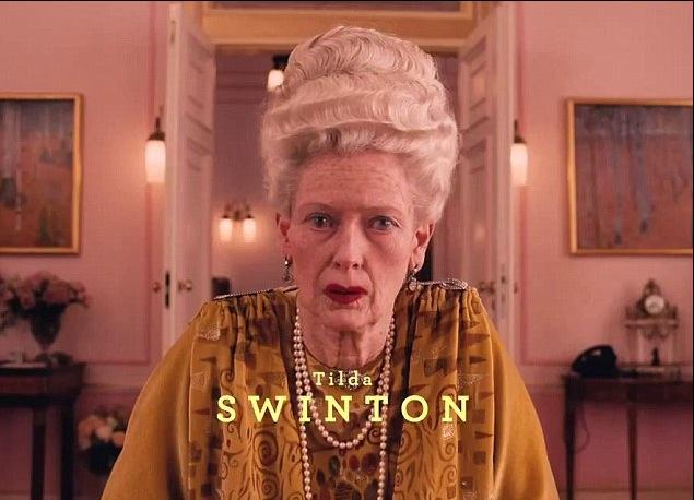 Tilda Swinton, The Grand Budapest Hotel